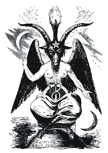 THE ELIPHAS LEVI BAPHOMET DRAWING