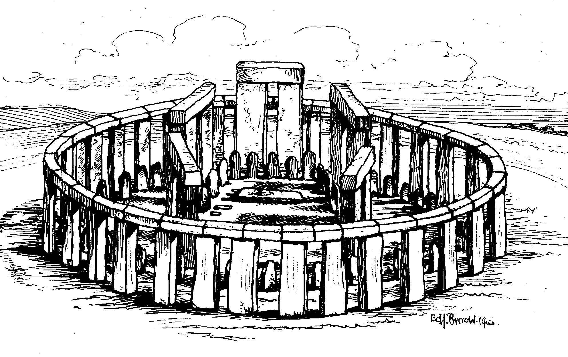 Stonehenge Elevation : Stonehenge